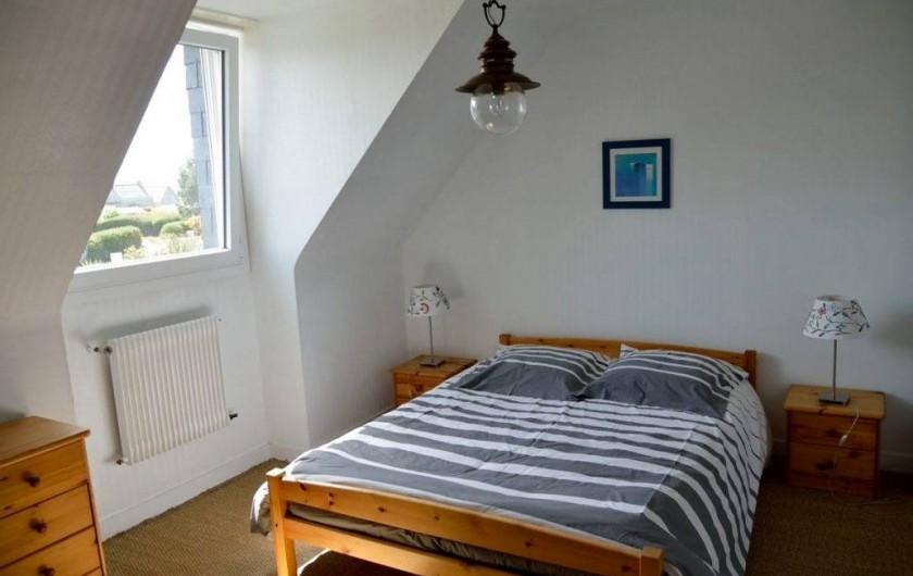 Location de vacances - Villa à Plougoulm - Chambre à l'étage