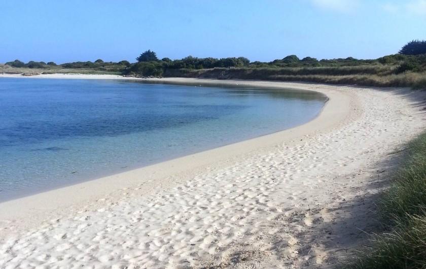 Location de vacances - Villa à Plougoulm - plage de sable blanc du guillec