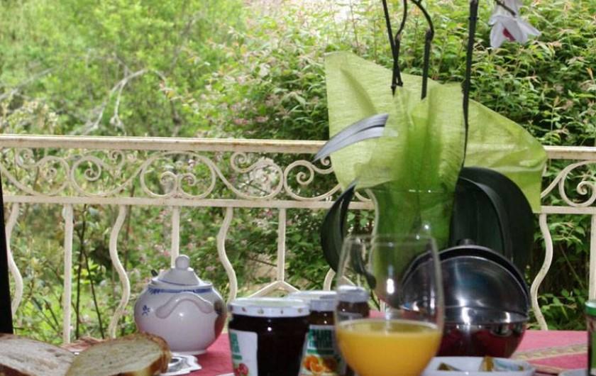 Location de vacances - Chambre d'hôtes à Sainte-Vertu - Petit déjeuner