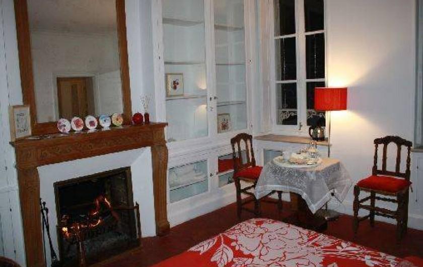 Location de vacances - Chambre d'hôtes à Sainte-Vertu - La chambre Rubis