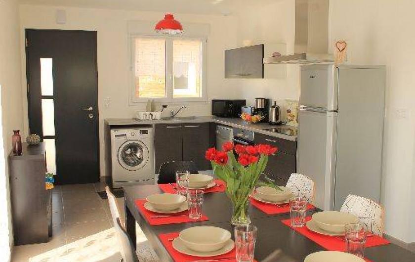 Location de vacances - Villa à Talmont-Saint-Hilaire - grande pièce de vie