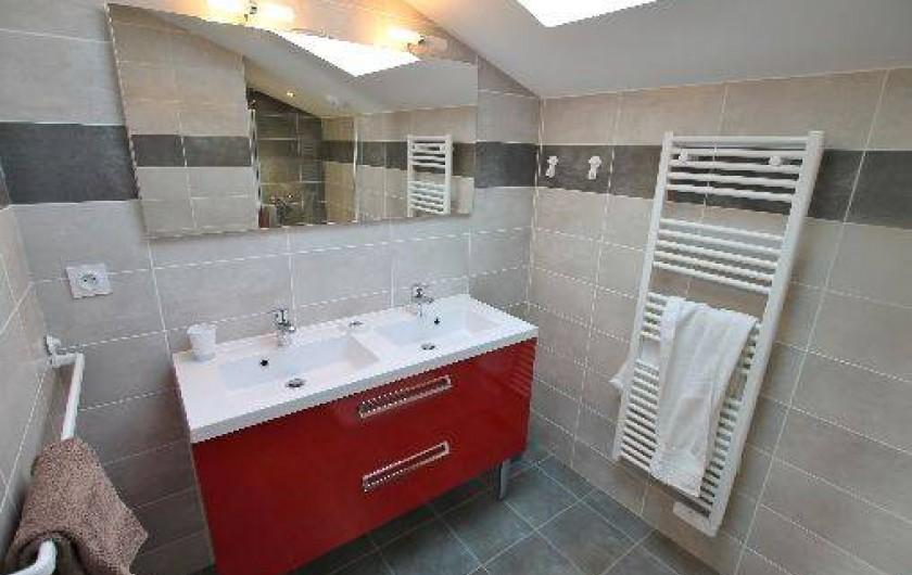 Location de vacances - Villa à Talmont-Saint-Hilaire - salle d'eau