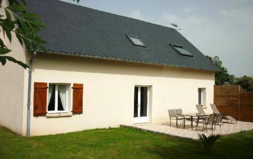 Location de vacances - Gîte à Arromanches-les-Bains - façade sud-ouest