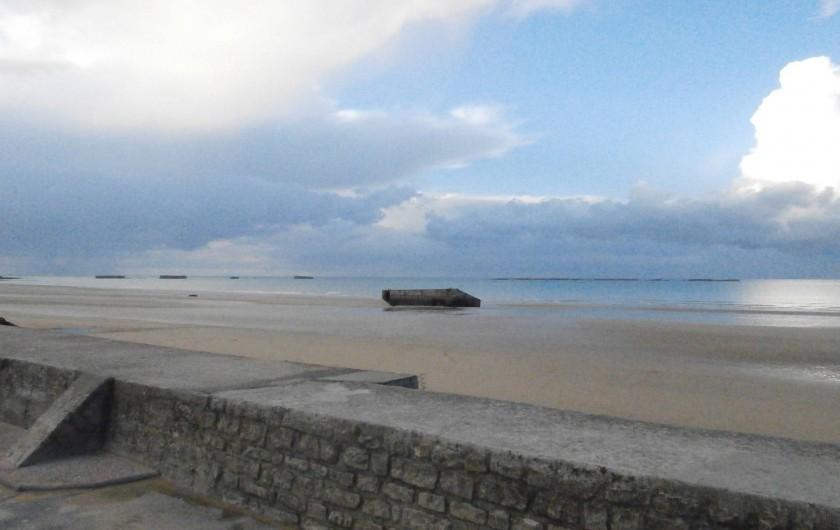 Location de vacances - Gîte à Arromanches-les-Bains - plage d'Arromanches
