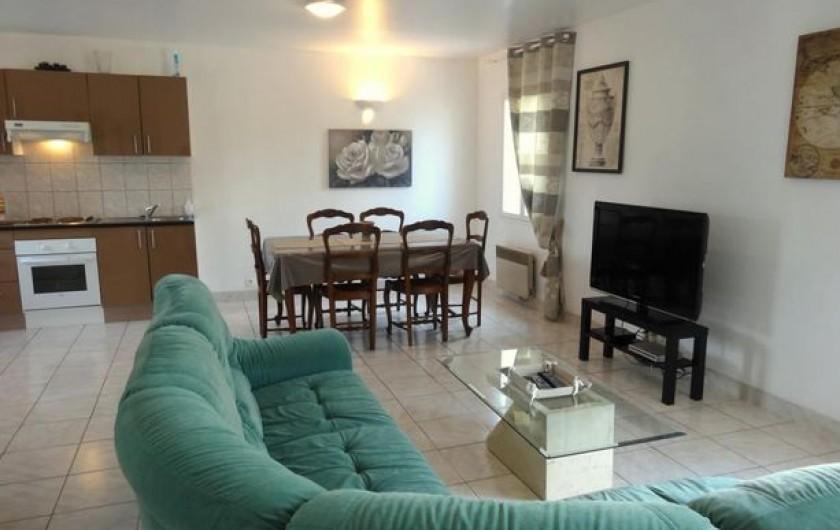 Location de vacances - Gîte à Arromanches-les-Bains - slle-salon