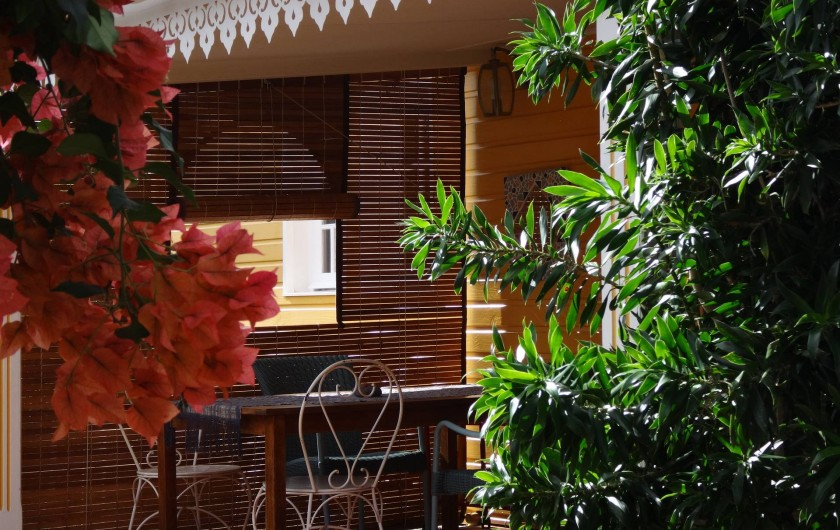Location de vacances - Villa à Les Avirons - la varangue