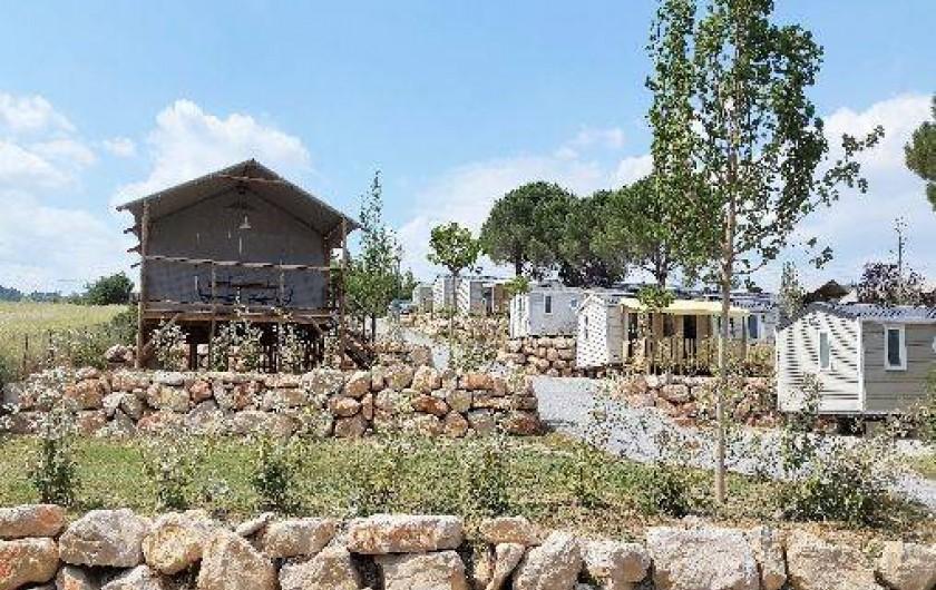 Location de vacances - Camping à Manosque