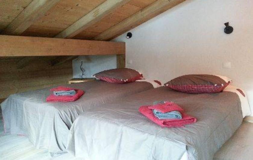 Location de vacances - Chalet à La Chapelle-d'Abondance - chambre