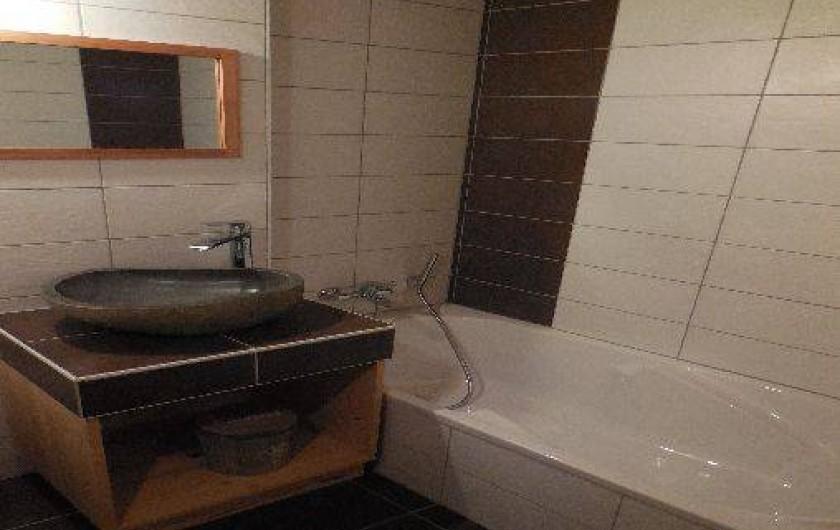 Location de vacances - Chalet à La Chapelle-d'Abondance - salle d'eau