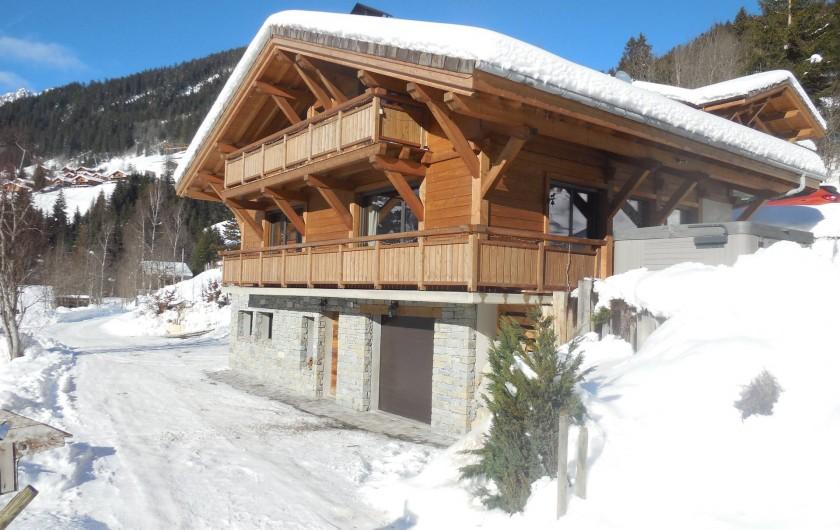 Chalet avec spa sauna home cinema proche de chatel et des portes du soleil la chapelle d - The dancing chalet ...