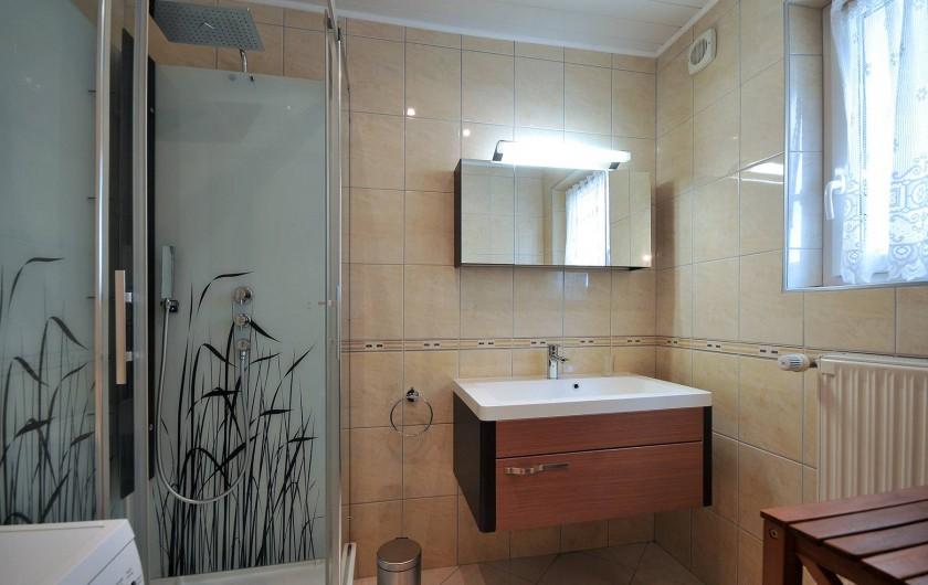 Location de vacances - Appartement à Haegen - douche