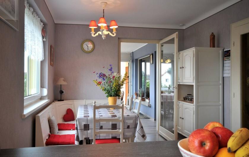 Location de vacances - Appartement à Haegen - séjour