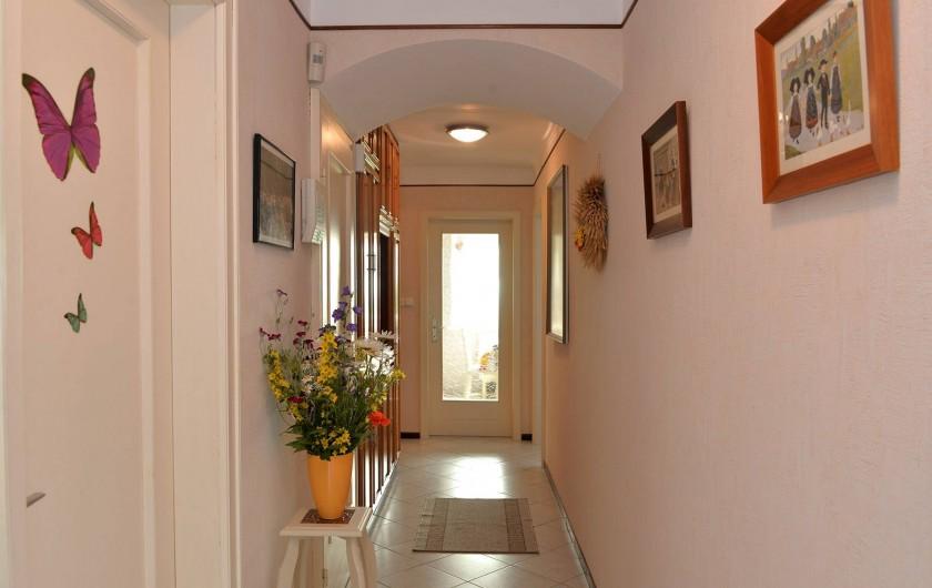 Location de vacances - Appartement à Haegen - couloir