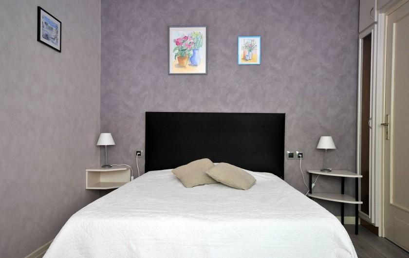 Location de vacances - Appartement à Haegen - chambre 2 lit 140x190