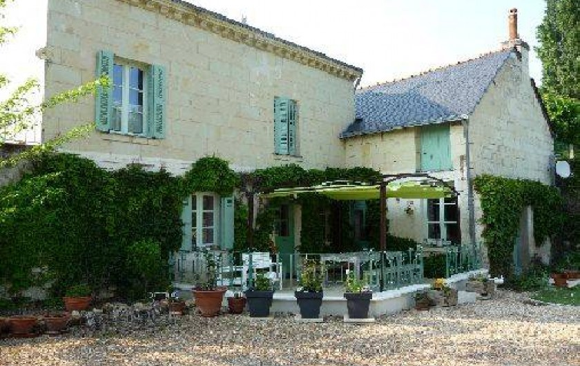 Location de vacances - Gîte à Fontevraud-l'Abbaye