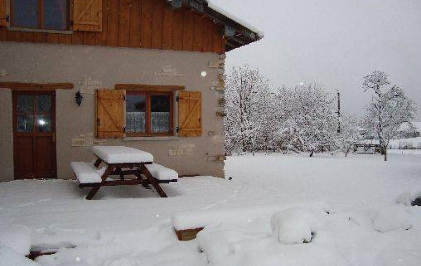Location de vacances - Gîte à Naisey-les-Granges