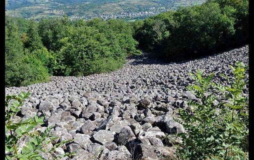 Location de vacances - Gîte à Lassouts - coulée de lave de Roquelaure à Lassouts
