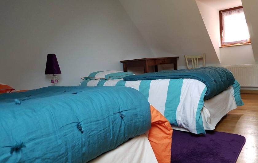 Location de vacances - Gîte à Lassouts - Suite chambre 2 lits