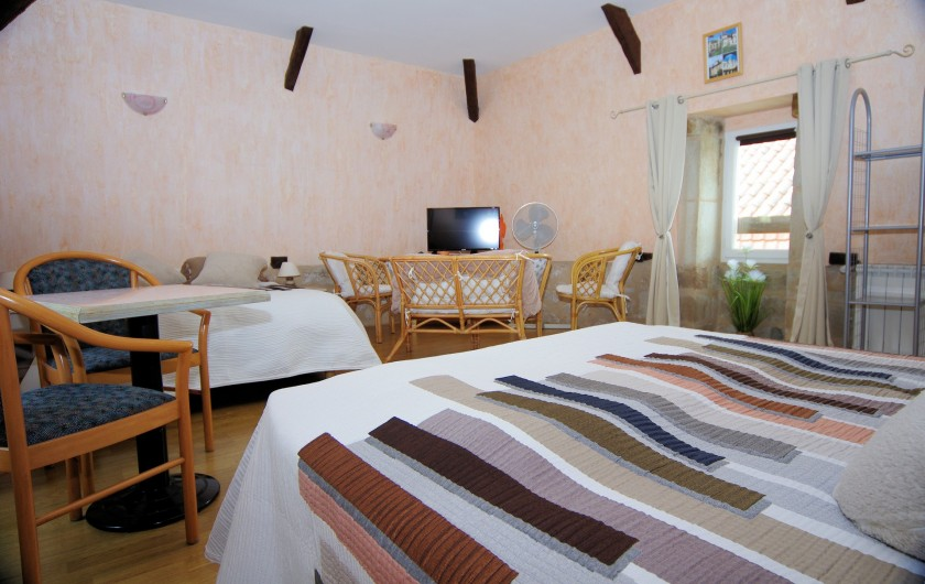Location de vacances - Chambre d'hôtes à La Madeleine - Séjour