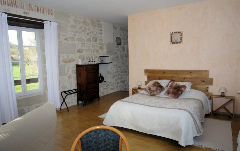 Location de vacances - Chambre d'hôtes à La Madeleine - Chambre Rocamadour 37m²