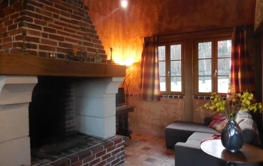 Location de vacances - Gîte à Saint-Germain-de-Livet - salon