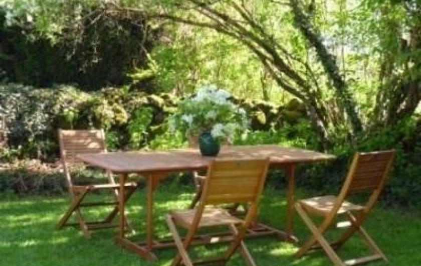 Location de vacances - Gîte à Loupiac - Jardin