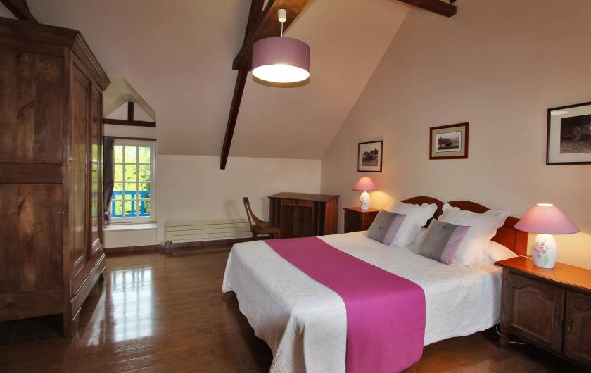 Location de vacances - Gîte à Saint-Alban - grande chambre (étage)