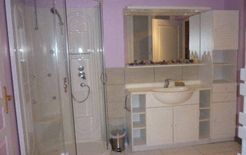 Location de vacances - Gîte à Ranrupt - salle de bain
