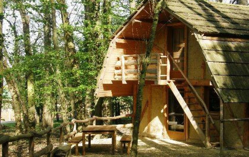 Location de vacances - Gîte à Crisolles - Gîte accessible PMR Accès extérieur pour l'étage