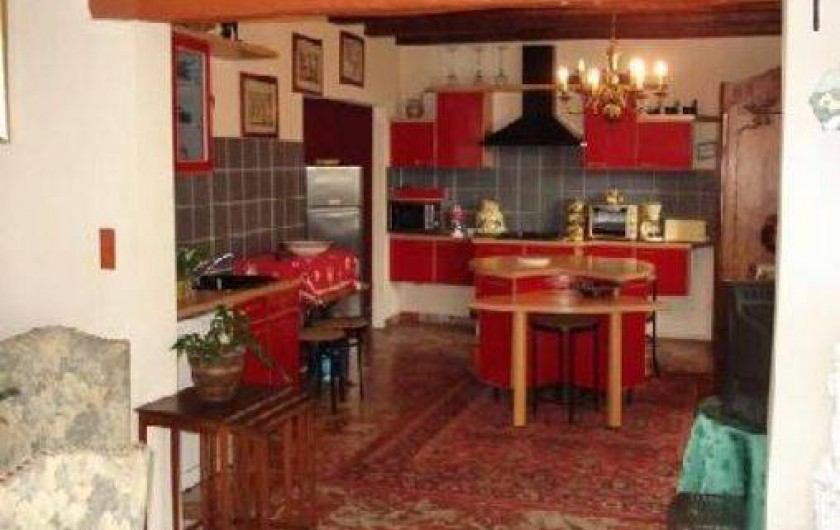 Location de vacances - Maison - Villa à La Guérinière - pièce de vie