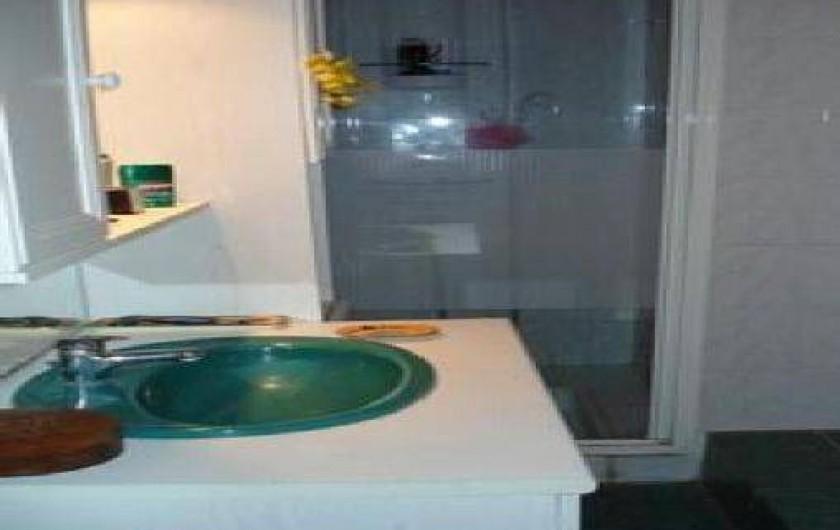 Location de vacances - Maison - Villa à La Guérinière - salle d'eau