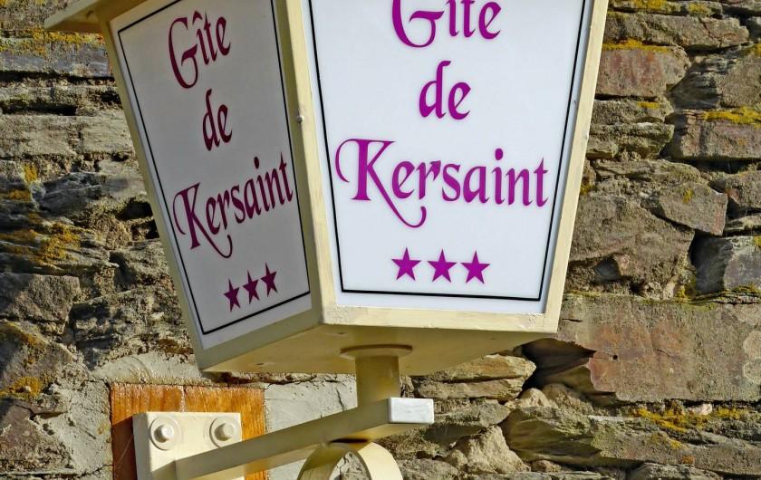 Location de vacances - Gîte à Saint-Igeaux - signalétique du gite