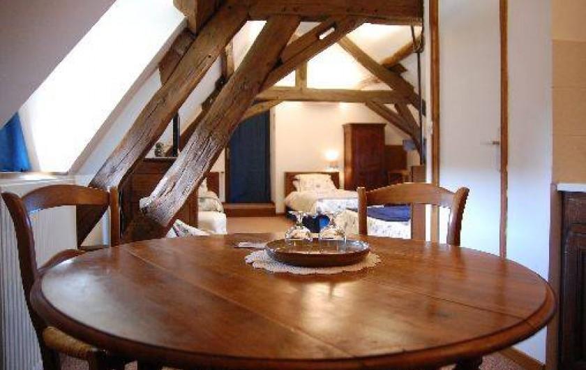 Location de vacances - Chambre d'hôtes à Champignelles - Coin Kitchenette  Chambre Pervenches