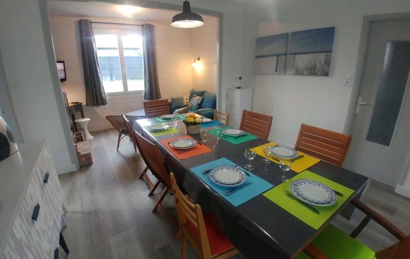 Location de vacances - Villa à La Tranche-sur-Mer - Pièce à vivre