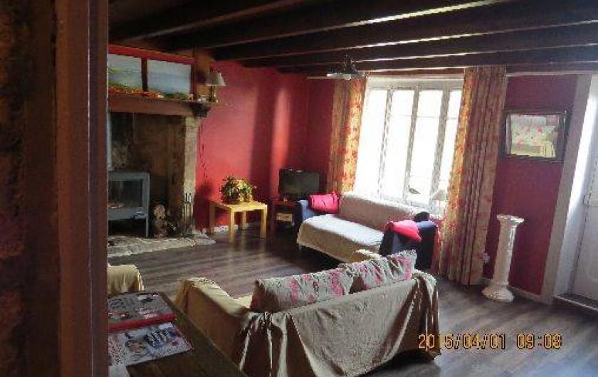 Location de vacances - Maison - Villa à Éculleville - salon