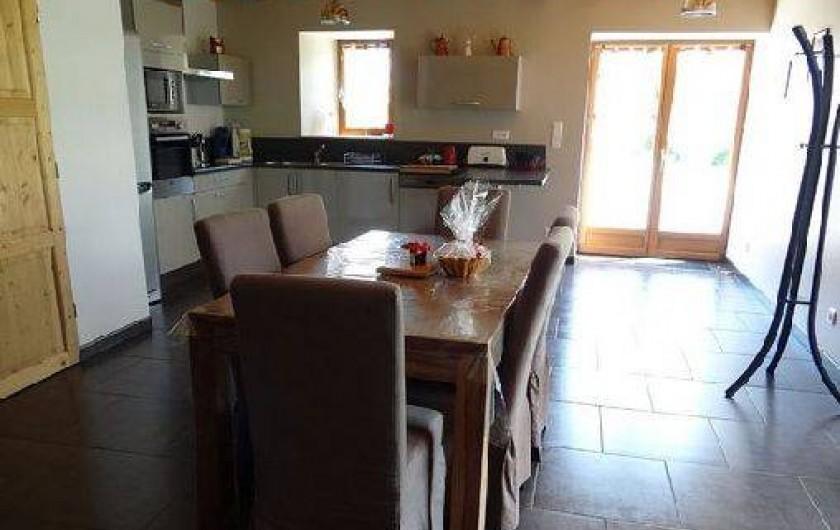 Location de vacances - Maison - Villa à Astugue - Salle à manger