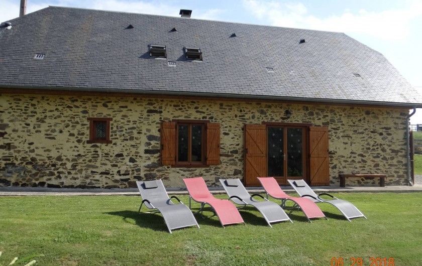 Location de vacances - Maison - Villa à Astugue - Pour la sieste  à l'extérieur