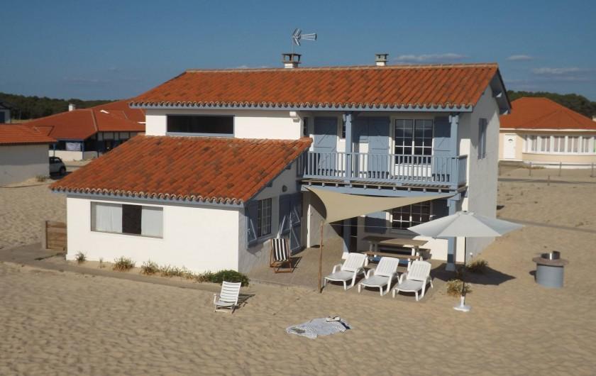 Location de vacances - Villa à Vielle-Saint-Girons - Villa sur la dune dans lotissement privé (sans clôture)