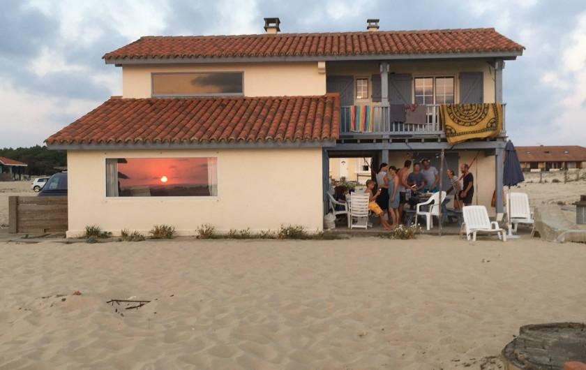 Location de vacances - Villa à Vielle-Saint-Girons - Villa au couché de soleil