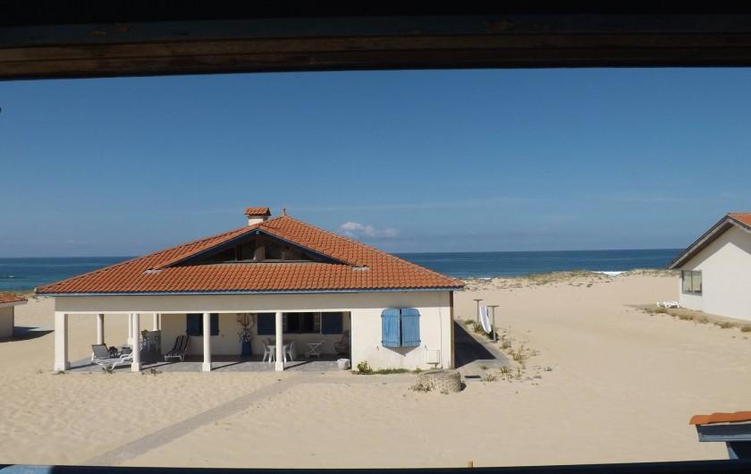 Location de vacances - Villa à Vielle-Saint-Girons - Vue du balcon chambre 1