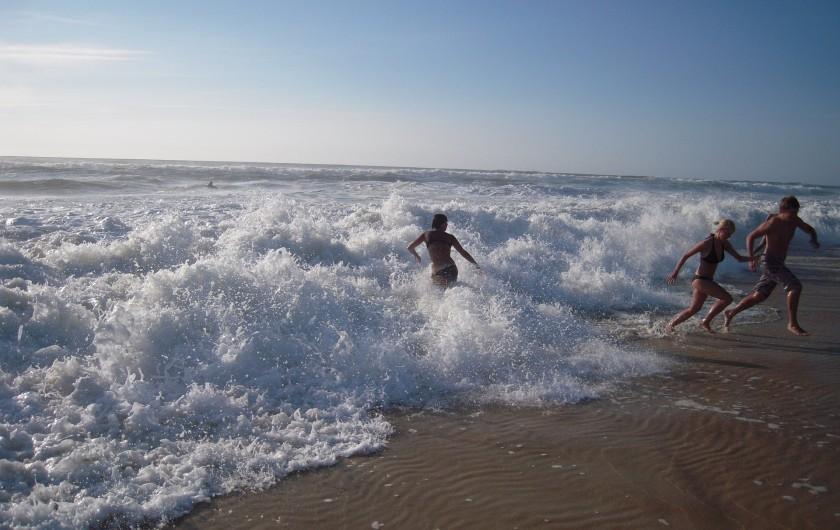 Location de vacances - Villa à Vielle-Saint-Girons - L'océan remue parfois...
