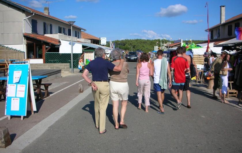 Location de vacances - Villa à Vielle-Saint-Girons - Les commerces et restaurants sur place