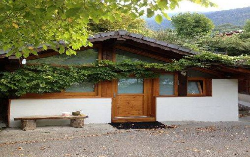Location de vacances - Chalet à Aigueblanche