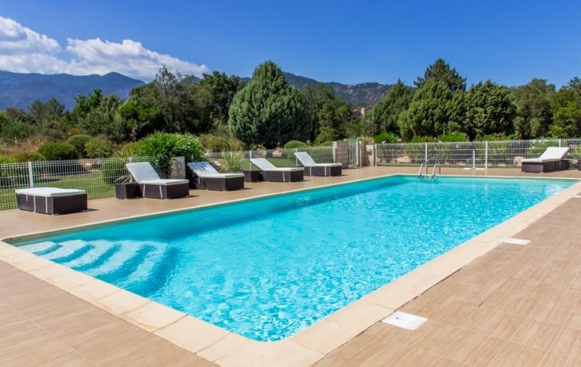 Location de vacances - Villa à Porto-Vecchio - LA PISCINE