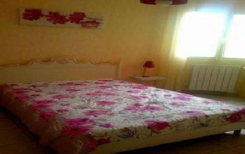 Location de vacances - Villa à Cazouls-lès-Béziers - Chambre coté nord