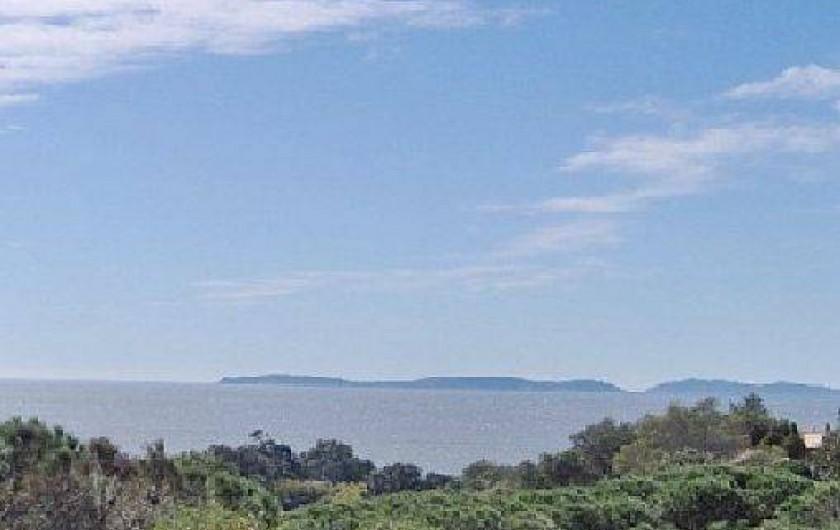 Location de vacances - Mas à La Croix-Valmer - Les îles d'or