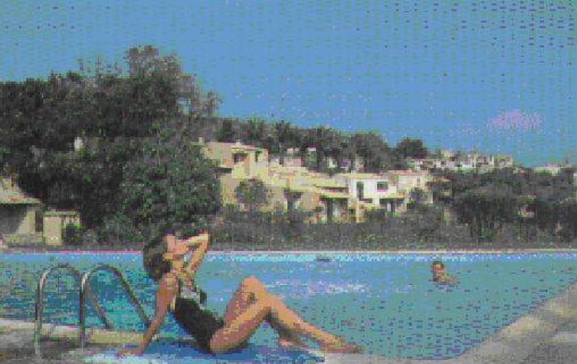 Location de vacances - Mas à La Croix-Valmer - Piscine
