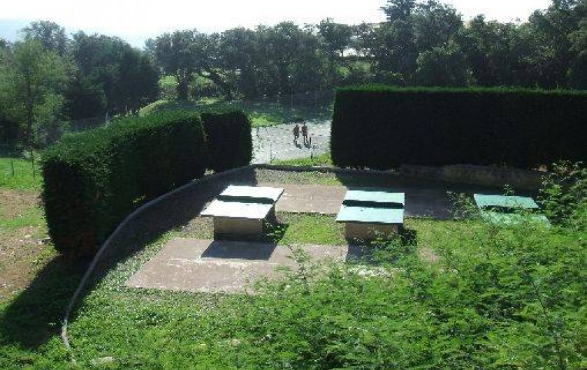 Location de vacances - Mas à La Croix-Valmer - Tables de tennis de table
