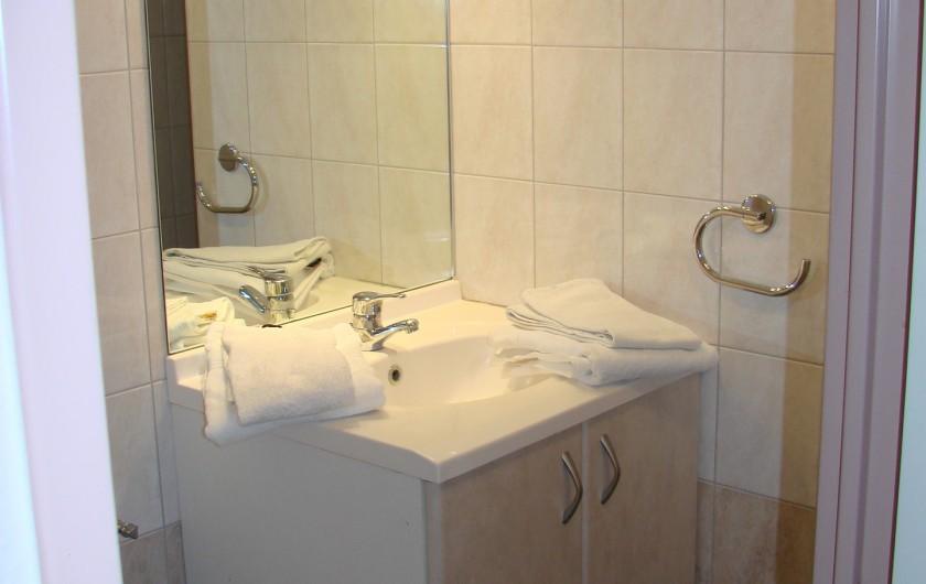 Location de vacances - Appartement à Guchen - Salle d'eau