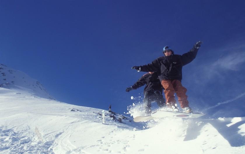 Location de vacances - Appartement à Guchen - Belle journée de Ski